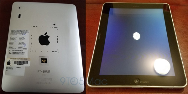 乔布斯参与设计!第一代iPad原型真机现身