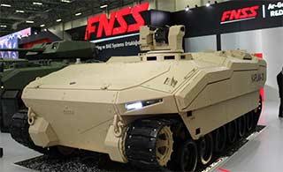 土耳其研发装甲车外形很科幻