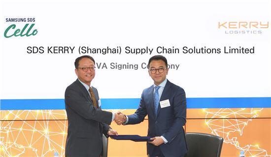 三星SDS与嘉里大通合作 将进军中国电商物流市场