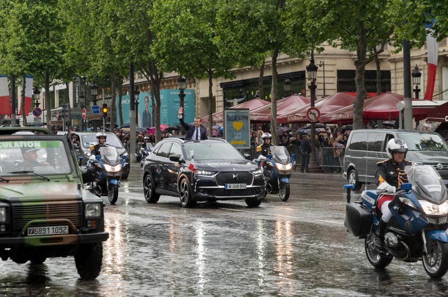 DS 7 赢得法国新总统青睐 成为就职典礼座驾