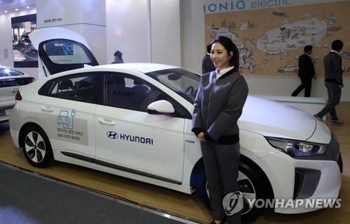 韩国一季度电动车销量同比大增9倍 现代Ioniq居首