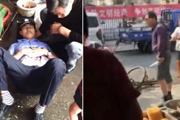 商贩捅死两名城管后逃离 警方悬赏5万通缉