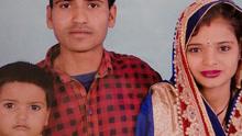 印度女子遭生父泼硫酸致毁容