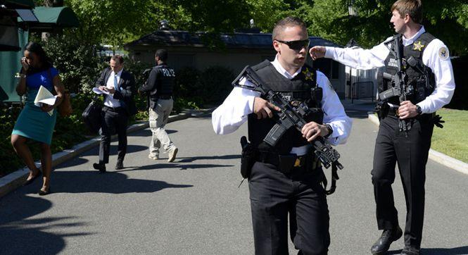 一可疑人员试图跳过白宫围墙闯入 美特勤处加强戒备
