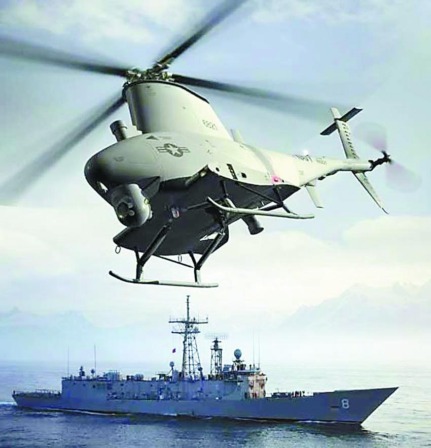 美媒:美军咋消灭中国潜艇?无人机充当反潜先锋