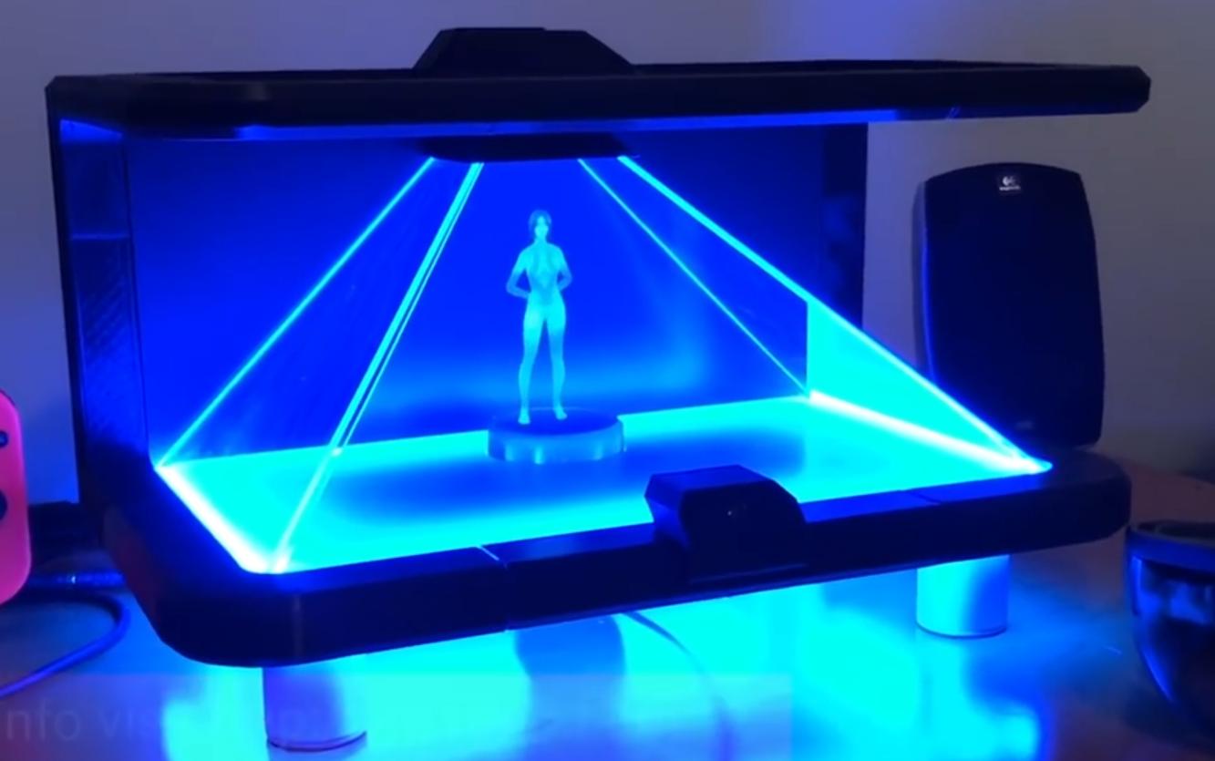 [视频]科技雷不撕:微软小娜首次变成全息美女