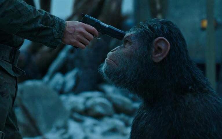 《猩球崛起3》新中文预告:原始猩球即将到来?
