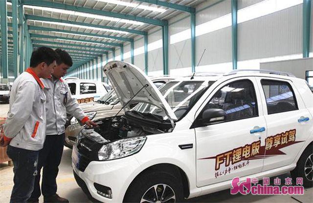 全国首个低速新能源电动汽车批量生产