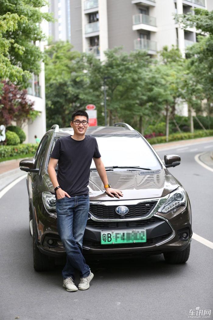 见证中国品牌崛起 之比亚迪唐100车主印象