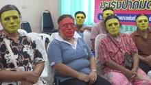 泰国妇检戴面具防尴尬 网友:可能会笑场