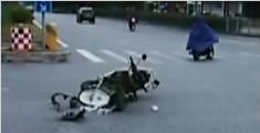 车祸起身五步后倒地身亡