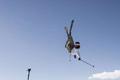艺高人胆大 极限达人超高难度滑雪动作看呆你