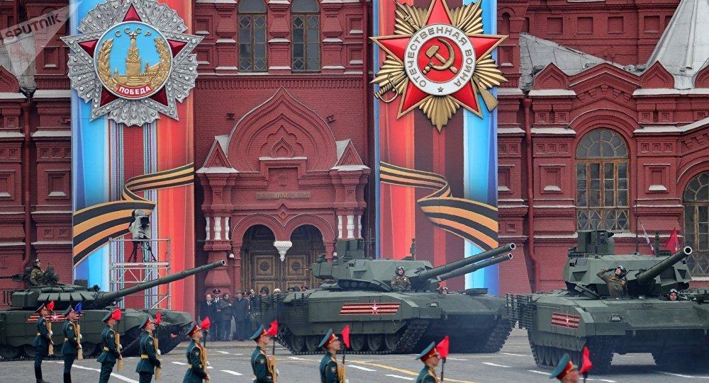 """媒体:俄""""阿玛塔""""坦克让驻欧美军担忧不已"""