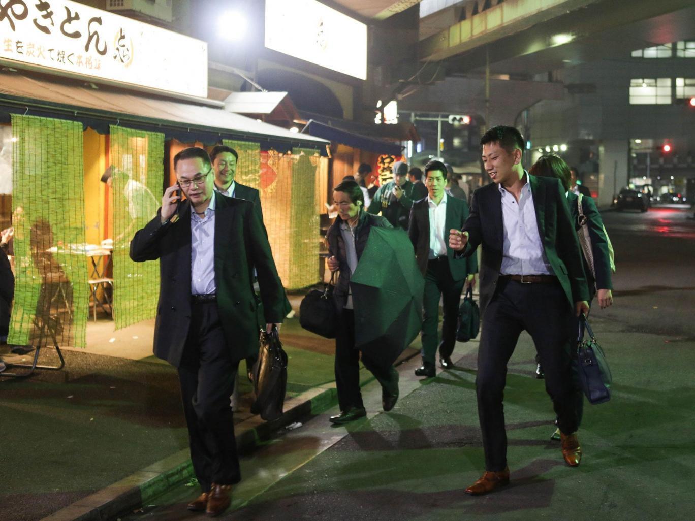 日本奇葩酒场文化:想要做好生意先要能喝酒