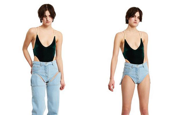 法时尚品牌推出可拆卸牛仔裤 分分钟变轻薄热裤
