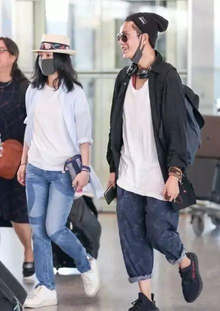 周迅陈坤机场同框,有的人真的不舍得拿来做情人!