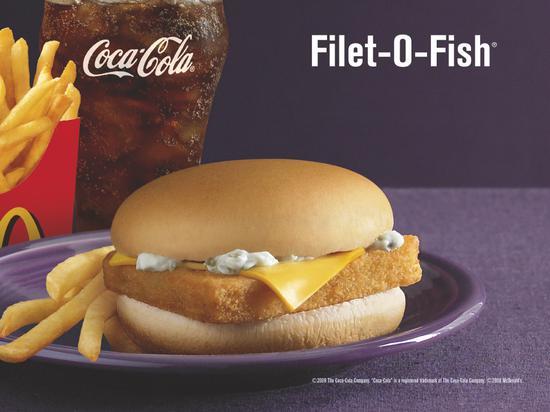 麦当劳鱼排餐广告冒犯单亲家庭 在英国引抗议