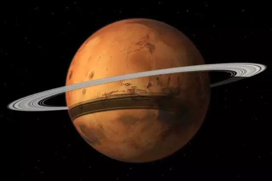 为什么土星有环,火星没有?火星曾经有以后也有