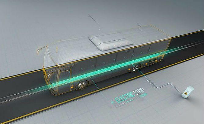 以色列无线充电公路开测 助力电动汽车推广