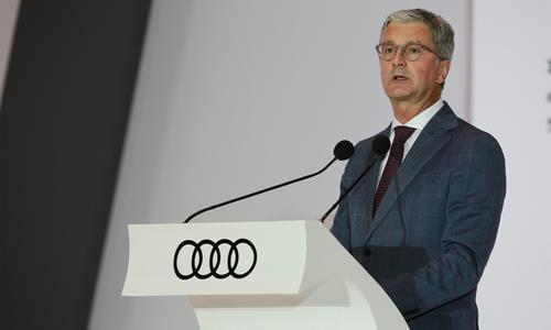 奥迪CEO施泰德将连任至2022年