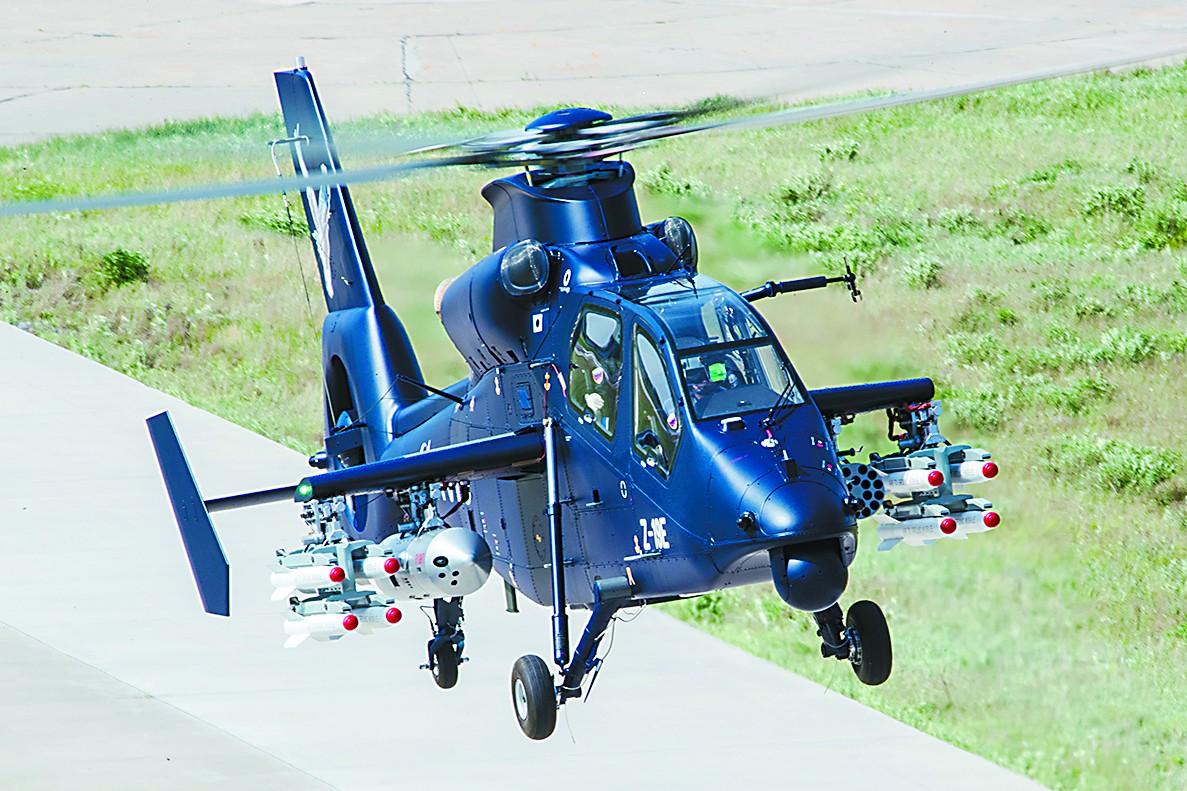 中国直19E新型武装直升机首飞 被指市场前景广阔