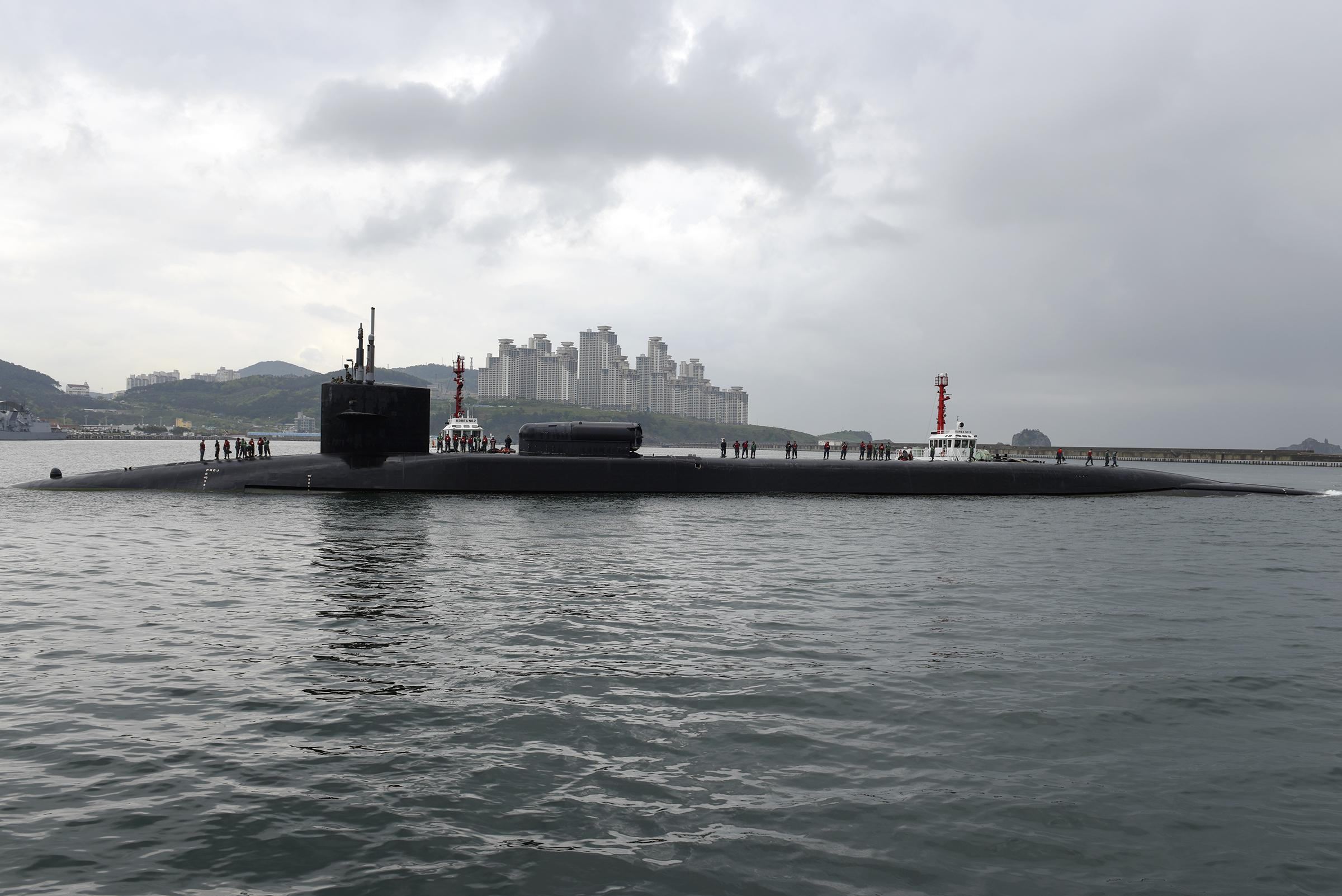 哭穷?美海军抱怨无钱维护潜艇 与华差距被拉大