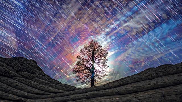 摄影师拍摄绝美星空 呼吁关注城市污染