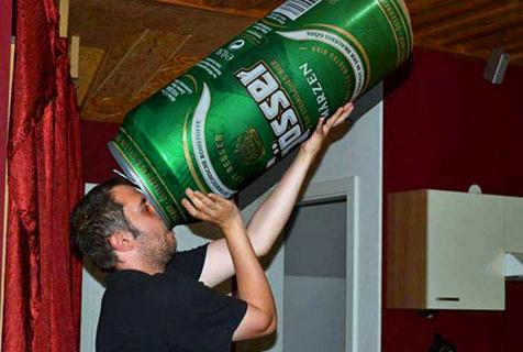啤酒永远不能停!