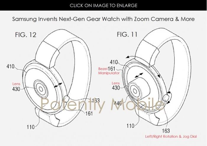 三星的智能穿戴设备专利图曝光 新设计浮出水面