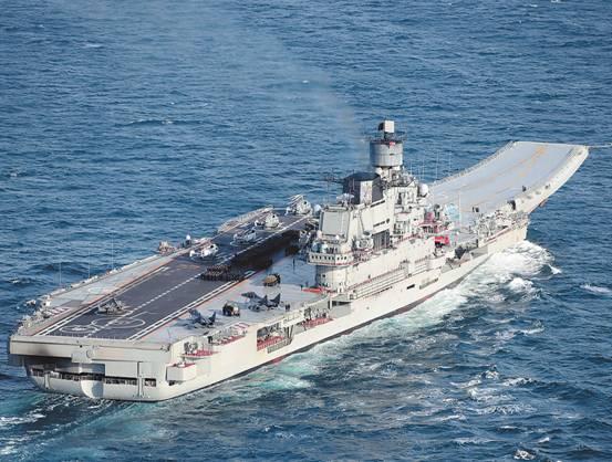 俄计划建造世界最大航母 搭载上百架舰载机