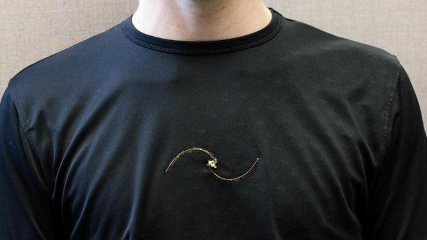 智能T恤可实时监测呼吸系统疾病患者的呼吸频率