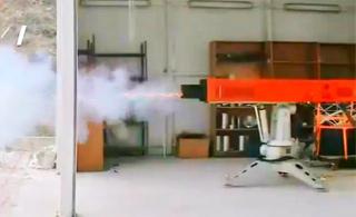 没想到土耳其也造出了电磁炮 这火力看着挺猛