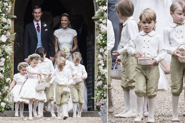 凯特王妃妹妹皮帕大婚 小王子小公主当花童萌翻抢镜