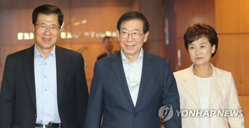 韩总统特使朴元淳启程赴菲 启动东盟三国之行