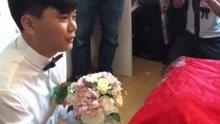 刑警结婚接亲 新娘出执法考题