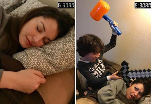 当妈前和当妈后有何不同,这9张图可以拿来当自嘲表情包