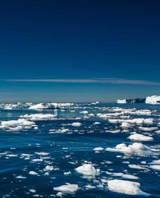 大自然咆哮的声音 格陵兰西部最活跃冰层