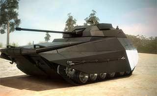 以色列新型装甲车造型很科幻