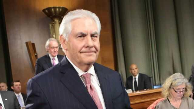 美媒:国务卿蒂勒森举办新闻发布会 现场竟无美国记者