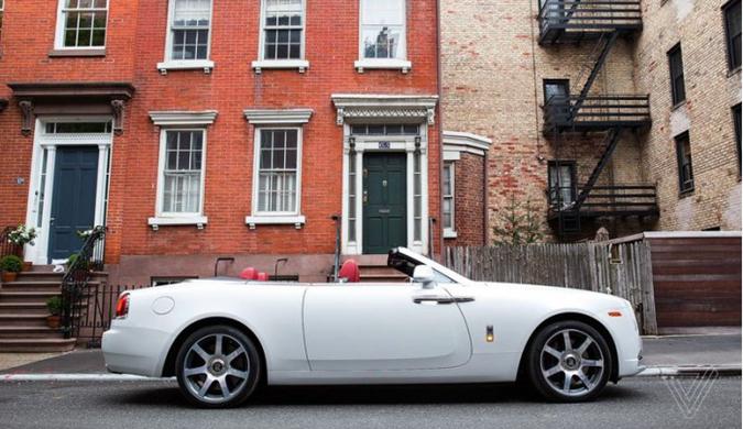 """劳斯莱斯""""自杀式""""车门:一种优雅的设计传统"""