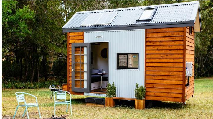 房价不断上涨 澳民众逐渐青睐可移动微型房屋