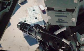 鱼鹰运输机安装遥控加特林机炮 瞬间科幻爆表