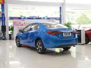 售10.98-16.18万元 丰田新款雷凌上市