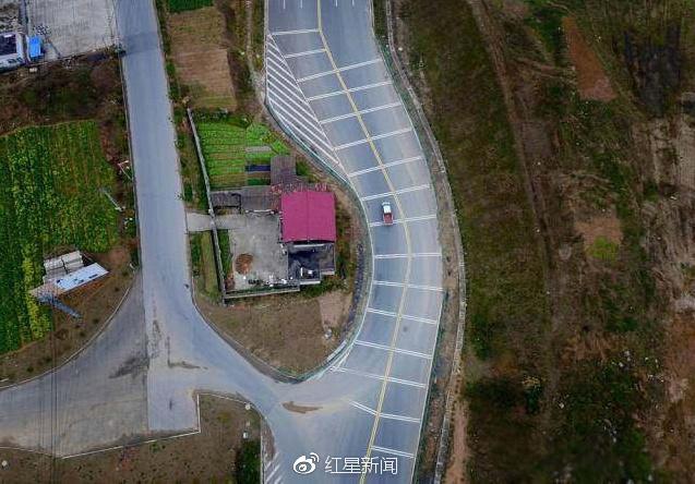 安徽一省道为钉子户拐弯让路致车祸频发? 相关部门:只有几次擦挂