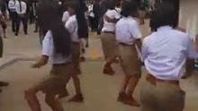 泰国正宗全男子中学开学仪式