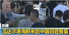 瓜达尔港海鲜来中国百姓餐桌