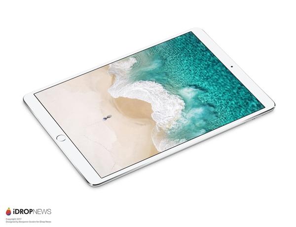 看起来不错!苹果下月将发布全新一代iPad