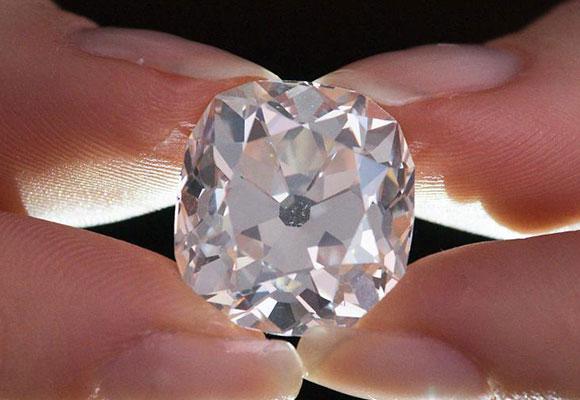26克拉白钻将拍卖估价45万美元 曾被当二手货甩卖