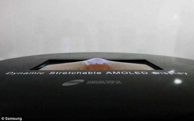 三星将展示全球首款可伸展OLED屏幕