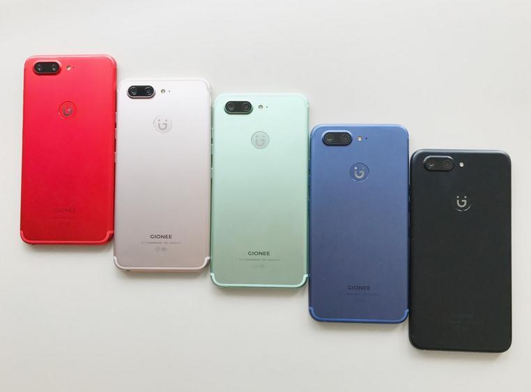 金立S10曝五个颜色 多处被指借鉴iPhone 7 Plus